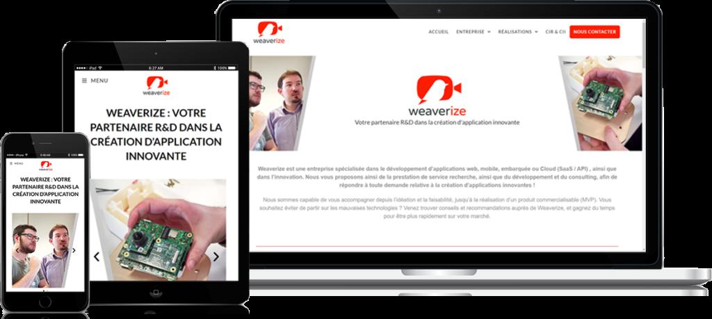site de démonstration : Weaverize.fr